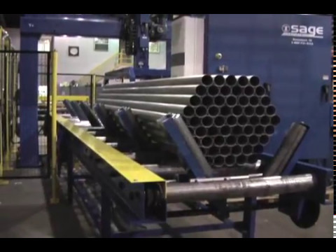 Automated Pipe/Tube Bundling Robotic System by Sage Automation