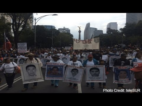 Mexicans Protest on Second Anniversary of Disappearance of 43 Students