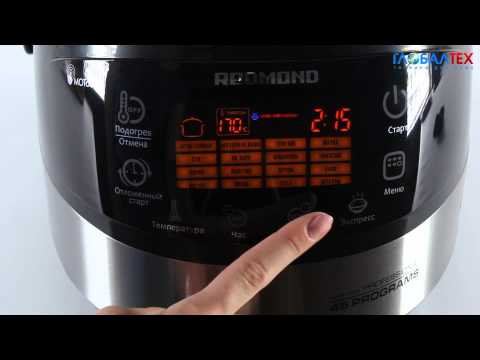 Видеообзор мультиварки Redmond RMC-M90
