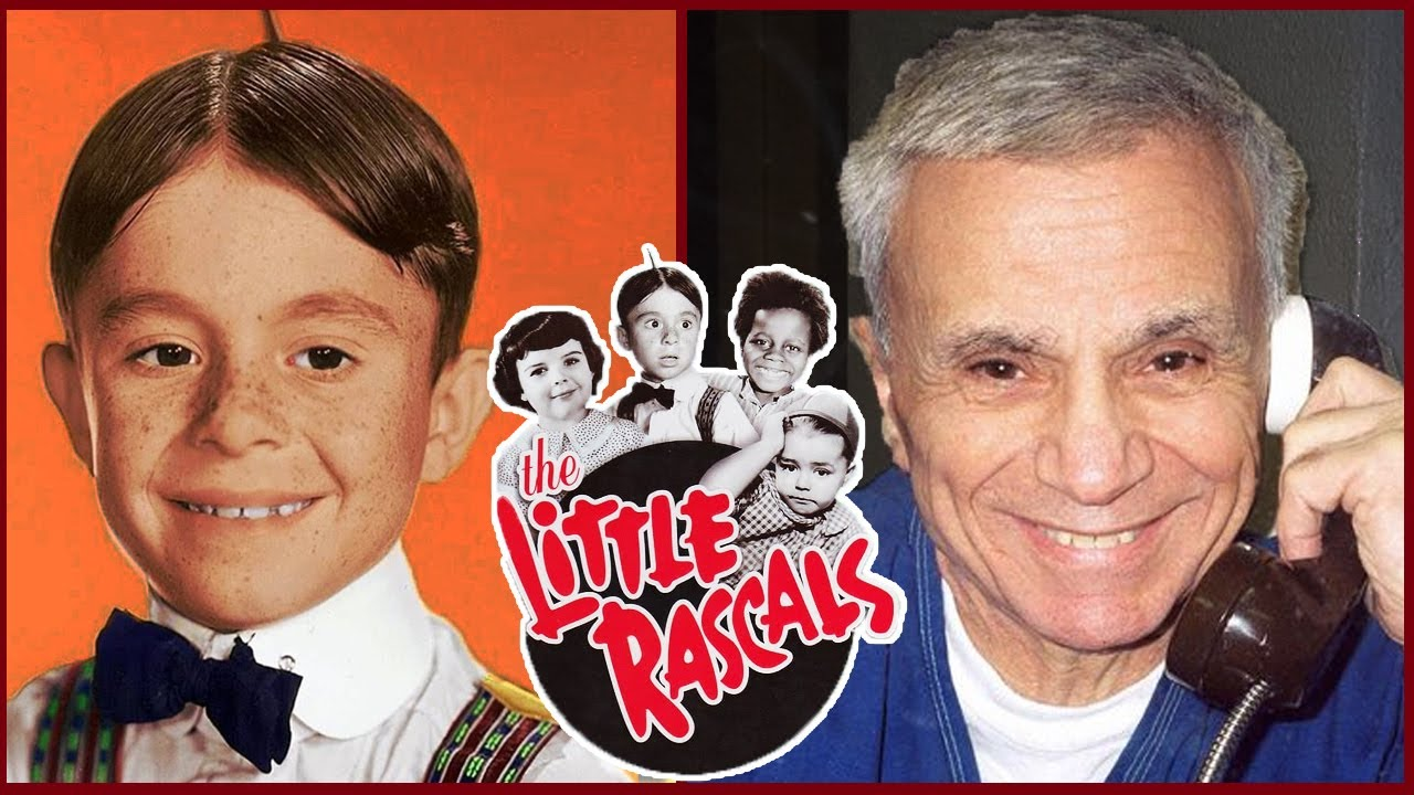 THE LITTLE RASCALS (OUR GANG) 🌟 THEN AND NOW 2021