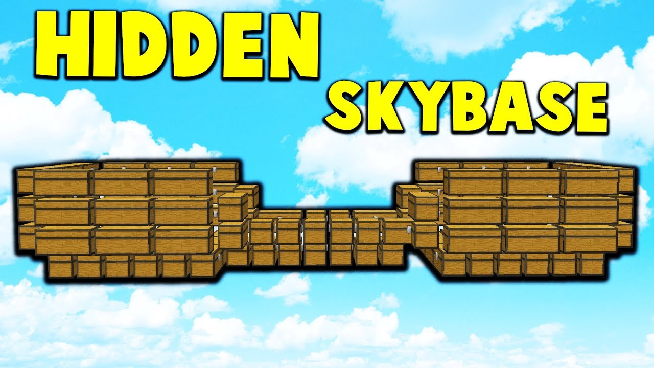 HUGE DOUBLE SKYBASE!? | Minecraft FACTIONS #818