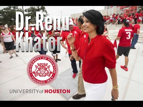 University Of Houston President Renu Khator on her life and growth and future of the University.