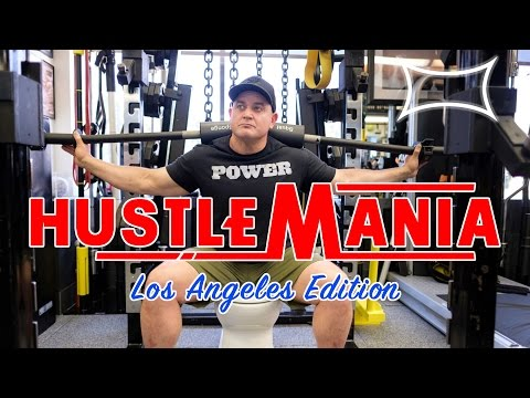 THE BEST GYM I'VE EVER BEEN IN | Hustlemania 7