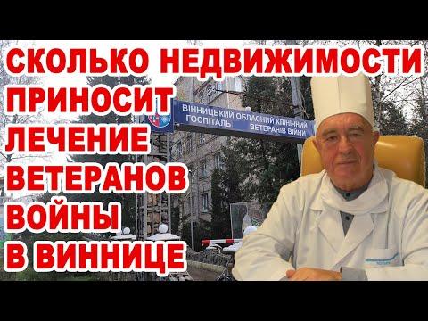 Yurii Basiuk: Сколько недвижимости приносит лечение ветеранов в Виннице?