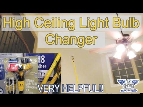 Light Bulb Changer For High Ceiling Youtube