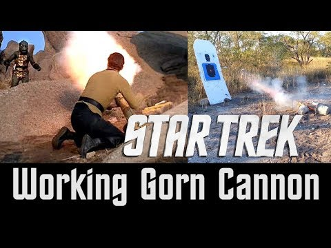Star Trek Gorn Cannon Confirmed MythBusters Busted!
