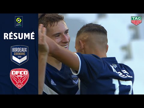 FC GIRONDINS DE BORDEAUX - DIJON FCO (3 - 0) - Résumé - (GdB - DFCO) / 2020-2021