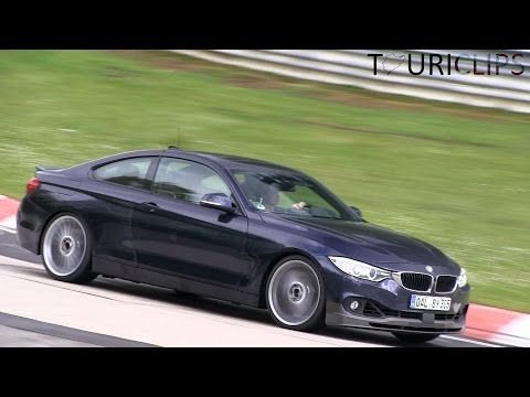 On the 13th of May 2014 we filmed two Alpina's on the Nürburgring. Both cars were based on the BMW 4-series, but probably with different motorization. OAL BY ...