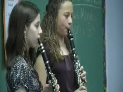 The Entertainer Clarinet Duet