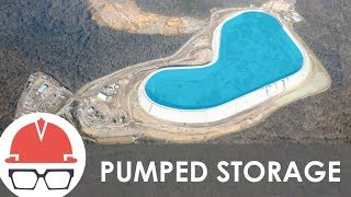 World's Largest Batteries - (Pumped Storage)