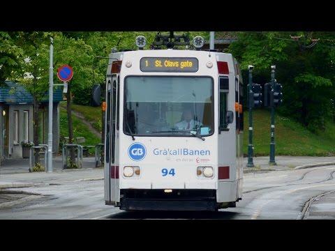 Straßenbahn Trondheim | LHB GT6 Typ Braunschweig