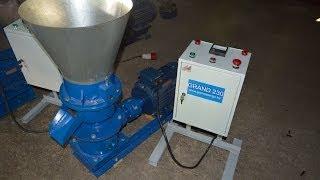 small pellet mill гранулятор 11 КВт. ГРАНД 230.(, 2013-10-29T08:24:41.000Z)