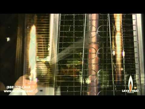 Lava Heat Italia Freestanding Gas Patio Heaters Youtube