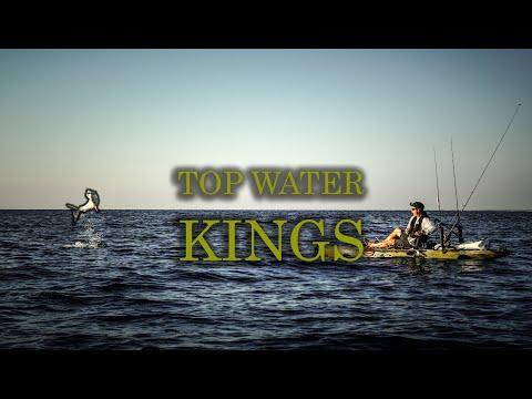 INSANE Kingfish on TOPWATER lures | Offshore Kayak Fishing Marathon Pt 3