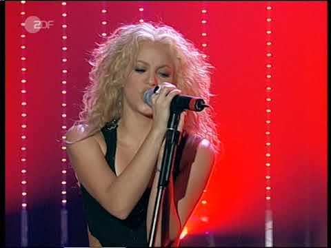 Download Shakira   Objection Wetten  dass live 2002