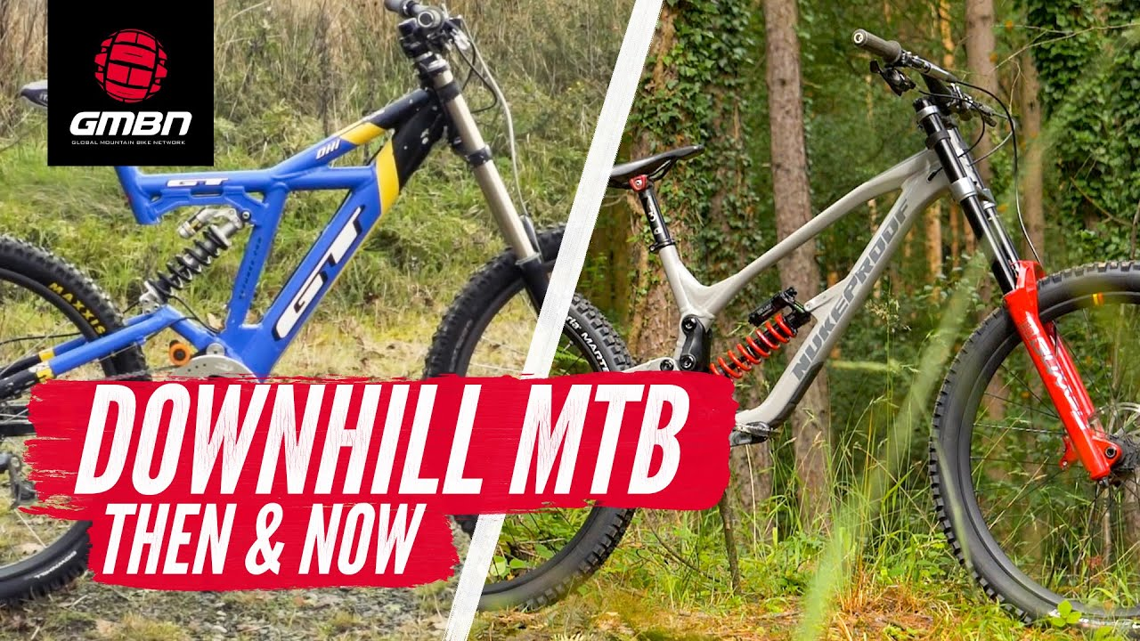 Downhill Mountain Biking: Then & Now   With Danny Hart