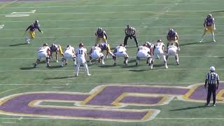 Cal Lutheran one-handed INT