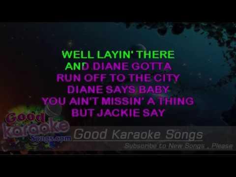 Jack and Diane -  John Mellencamp (Lyrics Karaoke) [ goodkaraokesongs.com ]