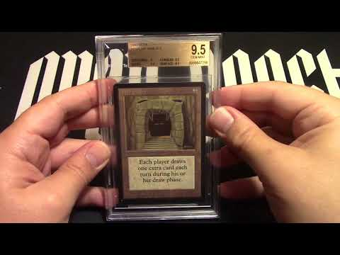 MTG Beta Howling Mine BGS 9.5 Up For Auction! How Doesn't Want It!