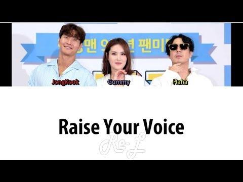 Download F-Killer Jongkook 종국, Haha 하하, Gummy 거미 - 'Raise Your Voice' S Color Coded ENG/ROM/HAN Mp4 baru