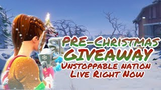 Fortnite live stream PS4 player// PRE Christmas give away/ playing with subs//family friendly Fortnite live stream PS4 player// PRE Christmas give away/playing with subs//family friendly Fortnite live stream PS4 player// PRE Christmas give away/playing with subs//family friendly