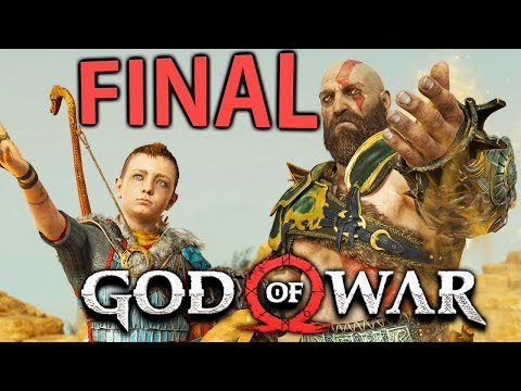 God of War (PS4) - FINAL ÉPICO!!!!!!!!!!!!!!!!!!!!!!! [ Playstation 4 Pro - Playthrough ]