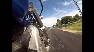 snowmobile motor on motorcycle
