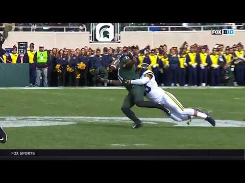 Connor Heywards Amazing Catch vs. Michigan | Big Ten Football