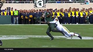 Connor Heyward's Amazing Catch vs. Mich...