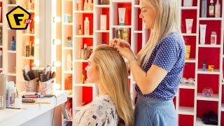 Как сделать ОБЪЁМНУЮ УКЛАДКУ ВОЛОС ✔ Как придать волосам объем