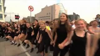 Riverdance World Record longest line 21 July 2013