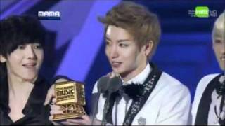 [ENG] 111129 MAMA 2011: SUPER JUNIOR - ALBUM OF THE YEAR