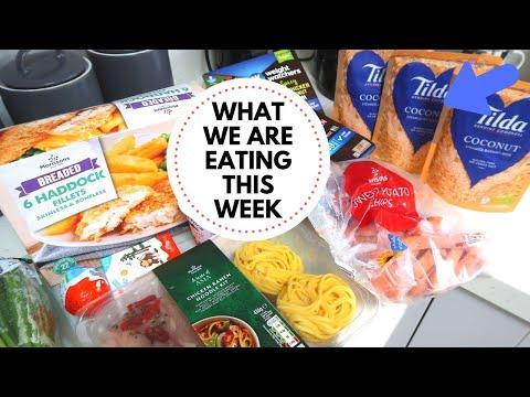Morrisons Grocery Food Haul