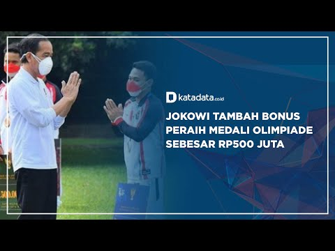Jokowi Tambah Bonus Peraih Medali Olimpiade Sebesar Rp500 Juta  Katadata Indonesia