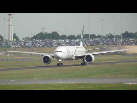 Pakistan International (PIA) Land/Takeoff Birmingham 06/07/2017