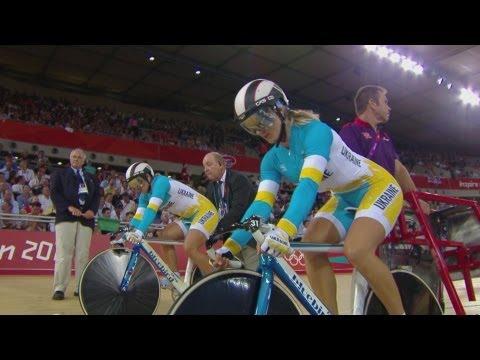 Cycling Track Women's Team Sprint Finals - Australia v Ukraine Bronze Medal- London 2012 Olympics