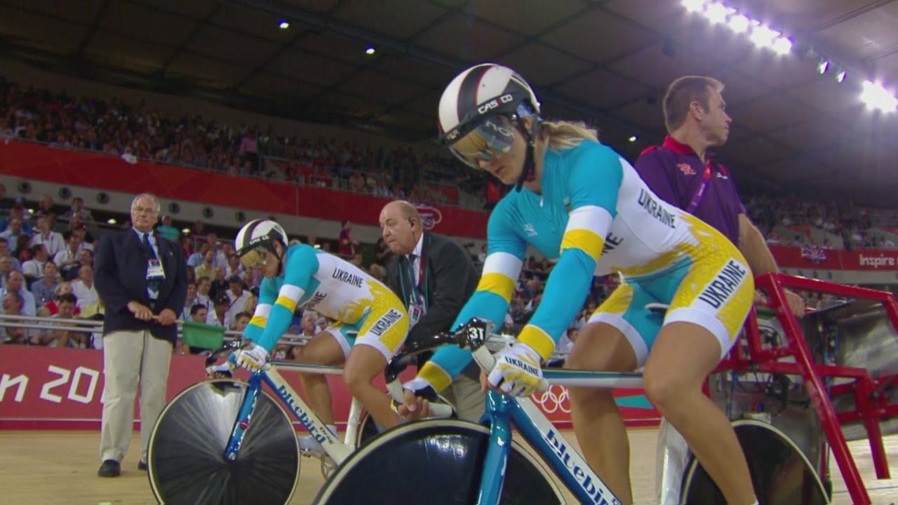 Cycling Track Women's Team Sprint Finals - Australia v Ukraine Bronze Medal- London 2012 Olympi