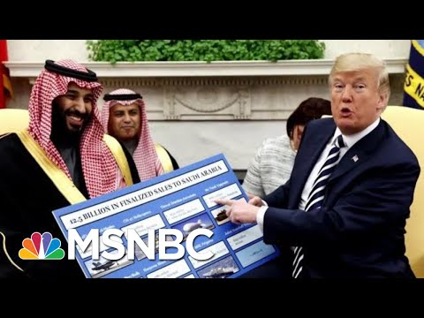President Donald Trump, Mike Pompeo Continue To Defend Saudi Arabia | Hardball | MSNBC