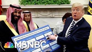 President Donald Trump, Mike Pompeo Continue To Defend Saudi Arabia   Hardball   MSNBC