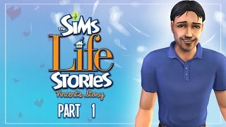 Let's Play: The Sims Life Stories ((S.2 PT.1)) - Introducing Vincent Moore