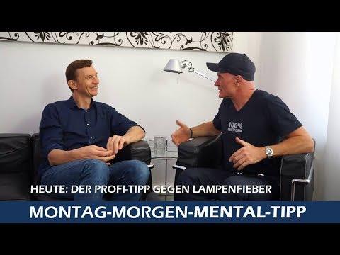 Mental Tipp Besser Präsentieren ohne Lampenfieber Interview mit Profisprecher Thomas Friebe