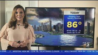 CBSMiami.com Sunday Weather 10-18-20