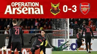 ÖSTERSUND 0-3 ARSENAL - HE IS NOT GOOD ENOUGH!