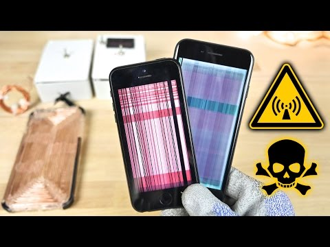 EMP Generator vs iPhone 7 & More Electronics!