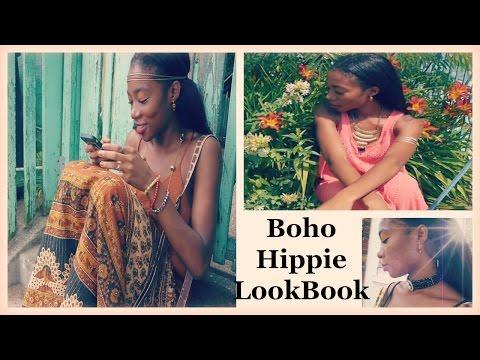 Boho/ Hippe Carefree Lookbook