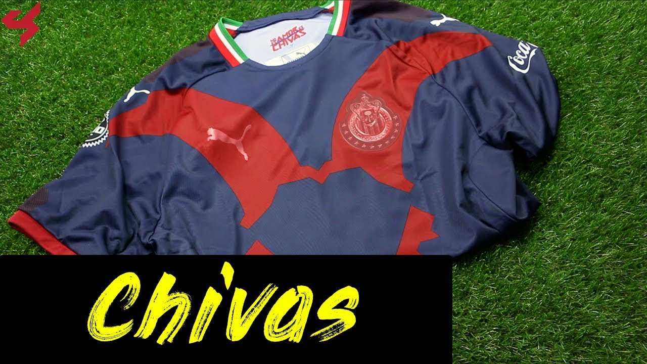 brand new a2ee5 d096b Puma Chivas 2018/19 Third Jersey Unboxing + Review