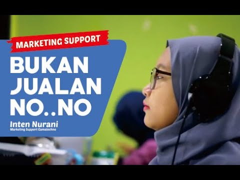 Marketing Support Di Perusahaan It Youtube