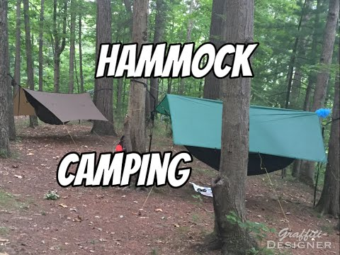 Hammock camping at Mohican State Park: Campsite 10