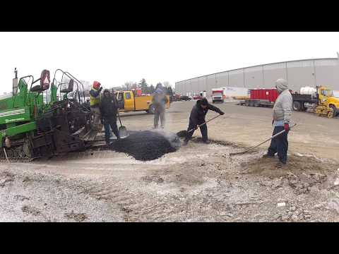 Globe Paving Indianapolis/ Planes Moving and Storage of Indianapolis/ Warehouse addition 2014