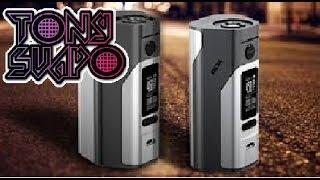 wismec reloux rx 2 3 + upgrade mod 250 watt